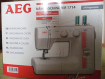 AEG 1714 Nähmaschine Test