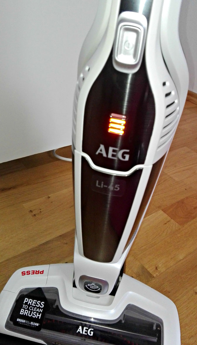 AEG Eco Ergorapido CX7-45ANI kabelloser 2in1 Handstaubsauger im Test