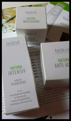 Believa Natural Anti Aging, Whitening und Intensive Pflegeprodukte im Test