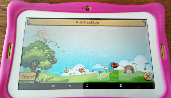 Blaupunkt Tablet PC 4Kids im Test