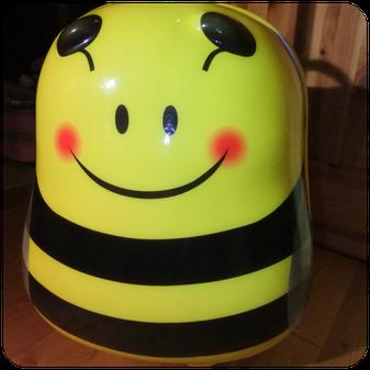 Bouncie 14503 Knorrtoys Reisetrolley für Kinder Hummel/Biene im Test