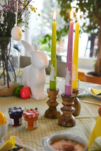 """Die Spitz- und Stumpenkerzen """"Weißes Kaninchen"""" von eika im Test"""