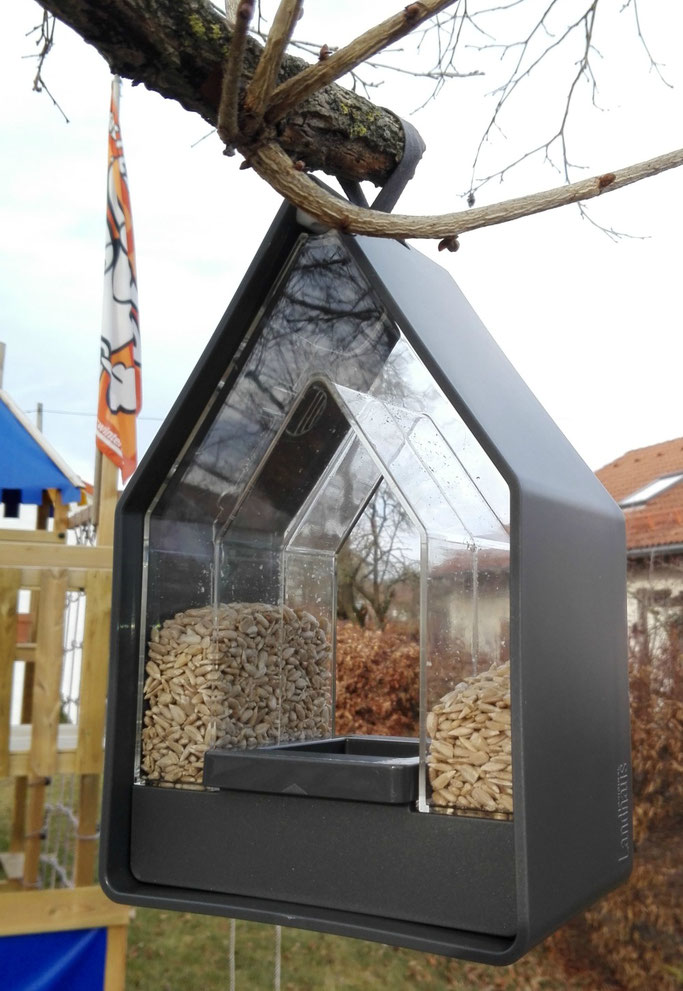 Emsa Futtersilo Vogelhaus Landhaus Test Erfahrungen