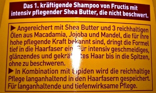 Fructis Oil Repair 3 Wunder Butter Serie im Test
