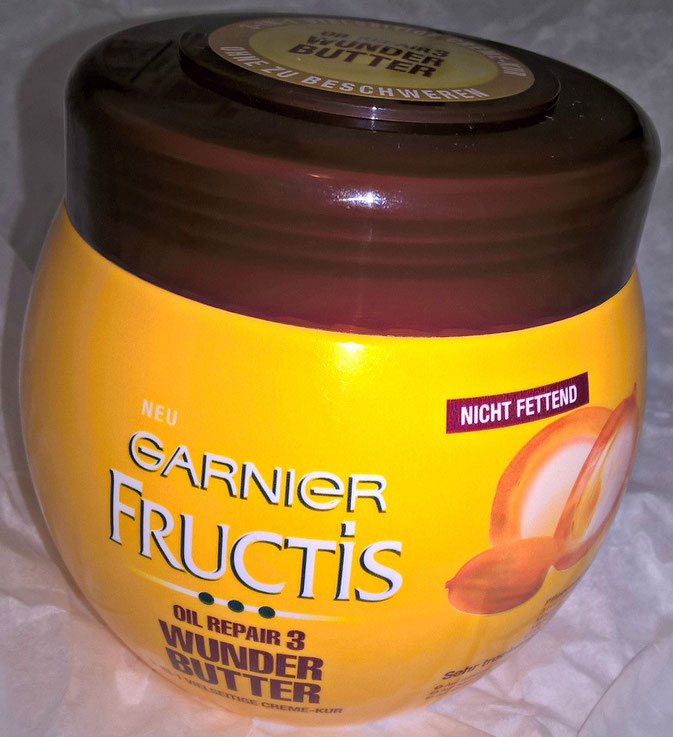 Garnier Fructis Oil Repair 3 Wunder Butter Serie im Test