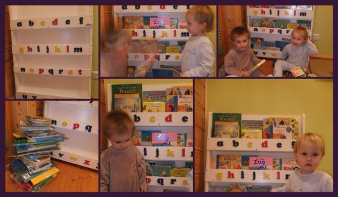 Gewinn Bücherregal Kinder