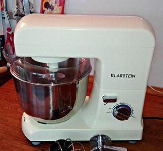 Klarstein Gracia Morena Küchenmaschine Test