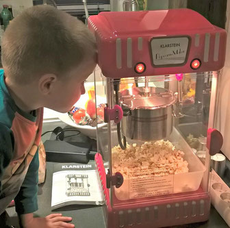 Klarstein Volcano Popcornmaschine im Test
