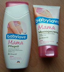Mama babylove Pflegeprodukte im Test