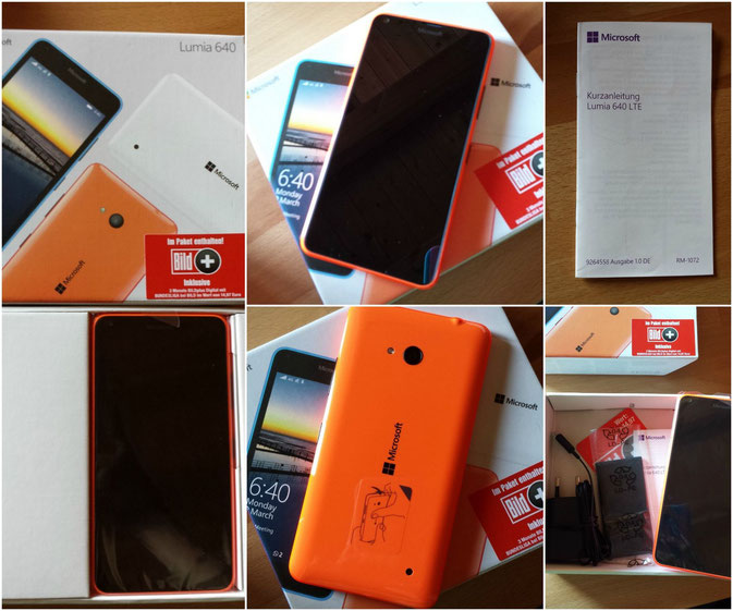 Microsoft Lumia 640 LTE orange im Test