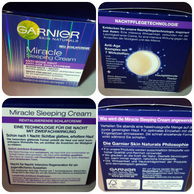 Miracle Sleeping Cream Schlafcreme im Test