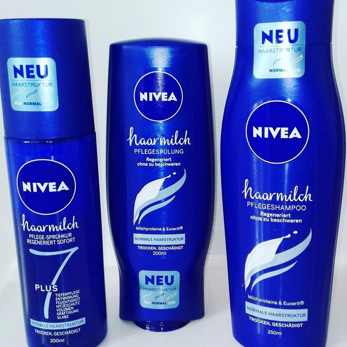 nivea haarmilch test