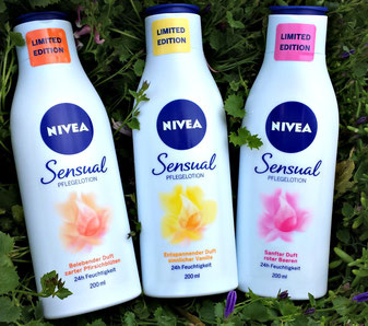 NIVEA SENSUAL Bodylotion Test