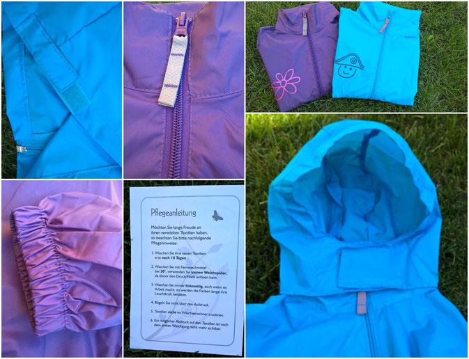 Personalisierte Regenjacken von Shirt-X.de im Test