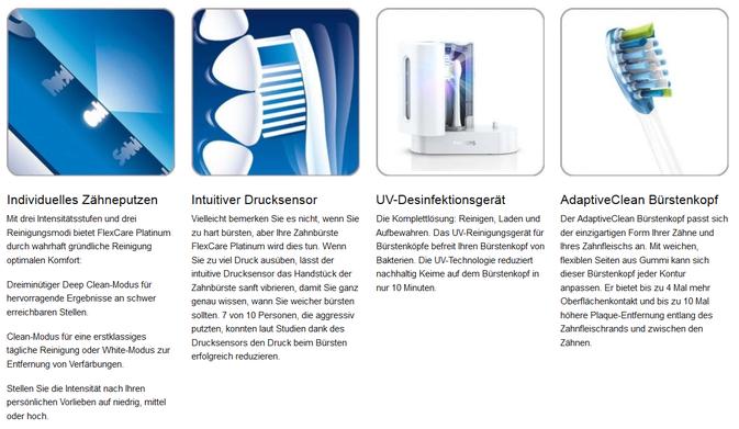 Philips FlexCare Schallzahnbürste im Test