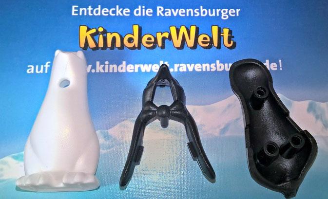 Plitsch-Platsch Pinguin Ravensburger Spiel im Test