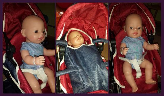 Puppenwagen Ruby Denim von Knorrtoys im Test