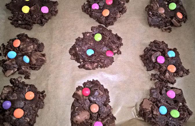 Rezept Chocolate Chip Cookies mit Schokoresten