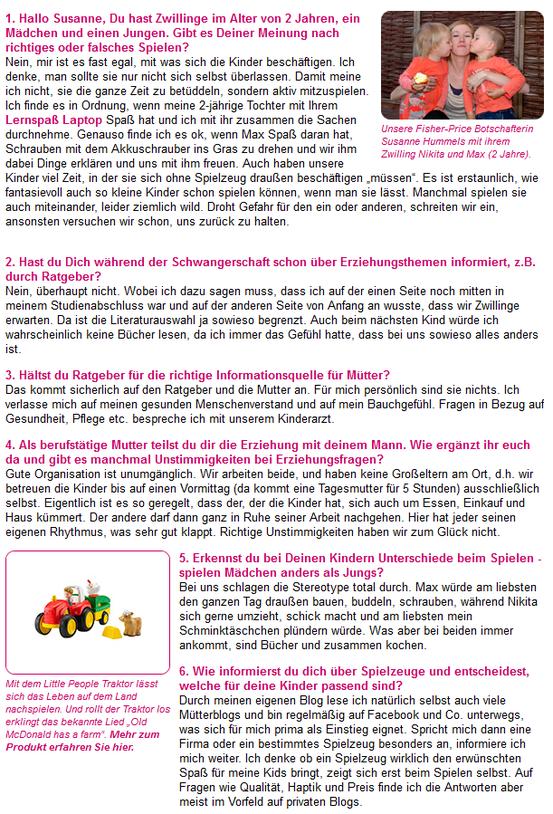 Richtig oder falsches Spielen? Mein Interview für Eltern.de