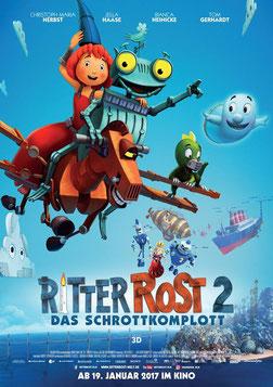 Ritter Rost II Filmankündigung