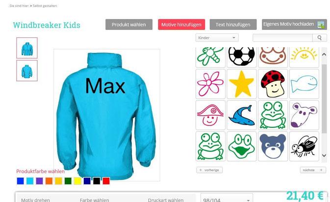 Shirt-x Bestellung im Test