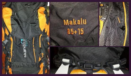 SKANDIKA Makalu 85+15 (schwarz/orange) Rucksack von Maxtrader im Test