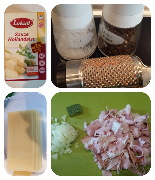 Spargel Lasagne mit Maggi Kräuter & Boillon Rezept