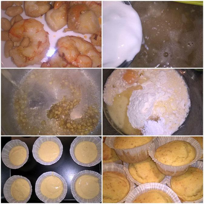 Thaisuppe mit Maisbrot-Muffins