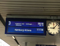 Ulm nach HH