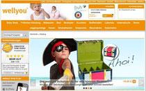 Wellyou Homepage