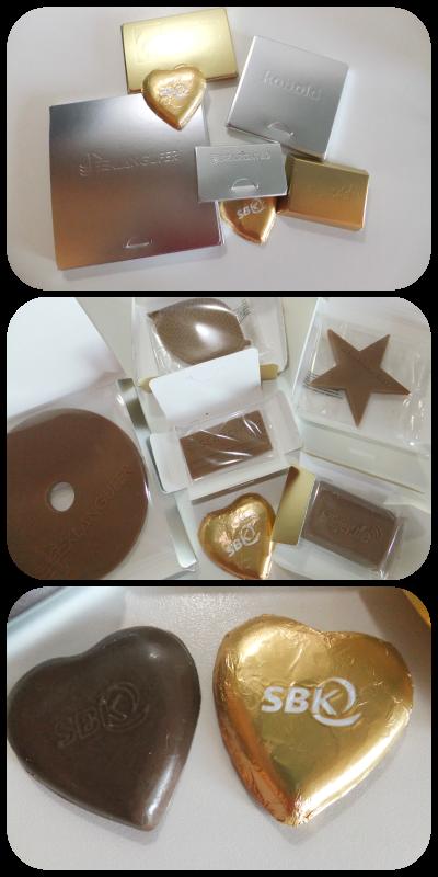 Wenn aus Logos Schokolade wird...Schokologo.com im Test