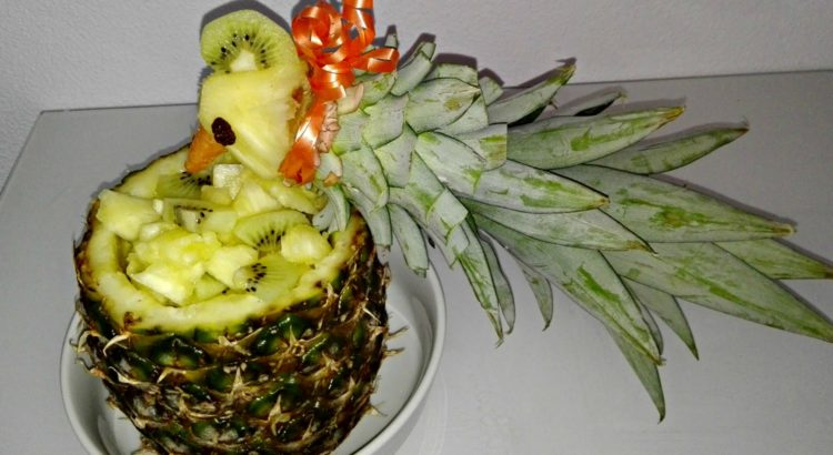 Ananas Papagei Anleitung Funfood Kindergarten