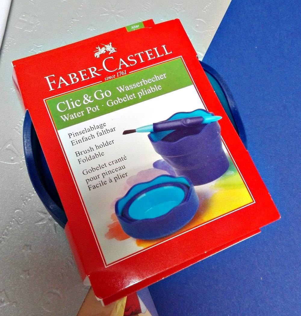 Faber Castell Connector Clic Go Erfahrung Wasserfarben