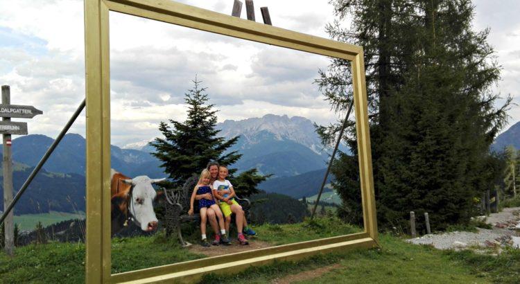 Unser Urlaub mit Familie in Waiding.