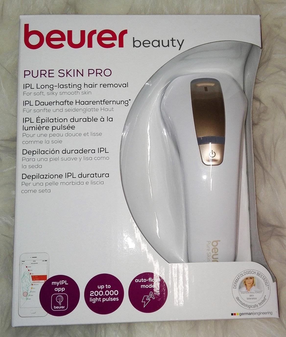 beurer IPL pure Skin Pro Erfahrung