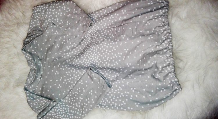 dm Stillschal upcycling Kleid
