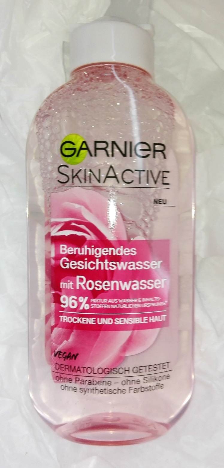 Garnier 96 % mit Rosenwasser SkinActive Erfahrung