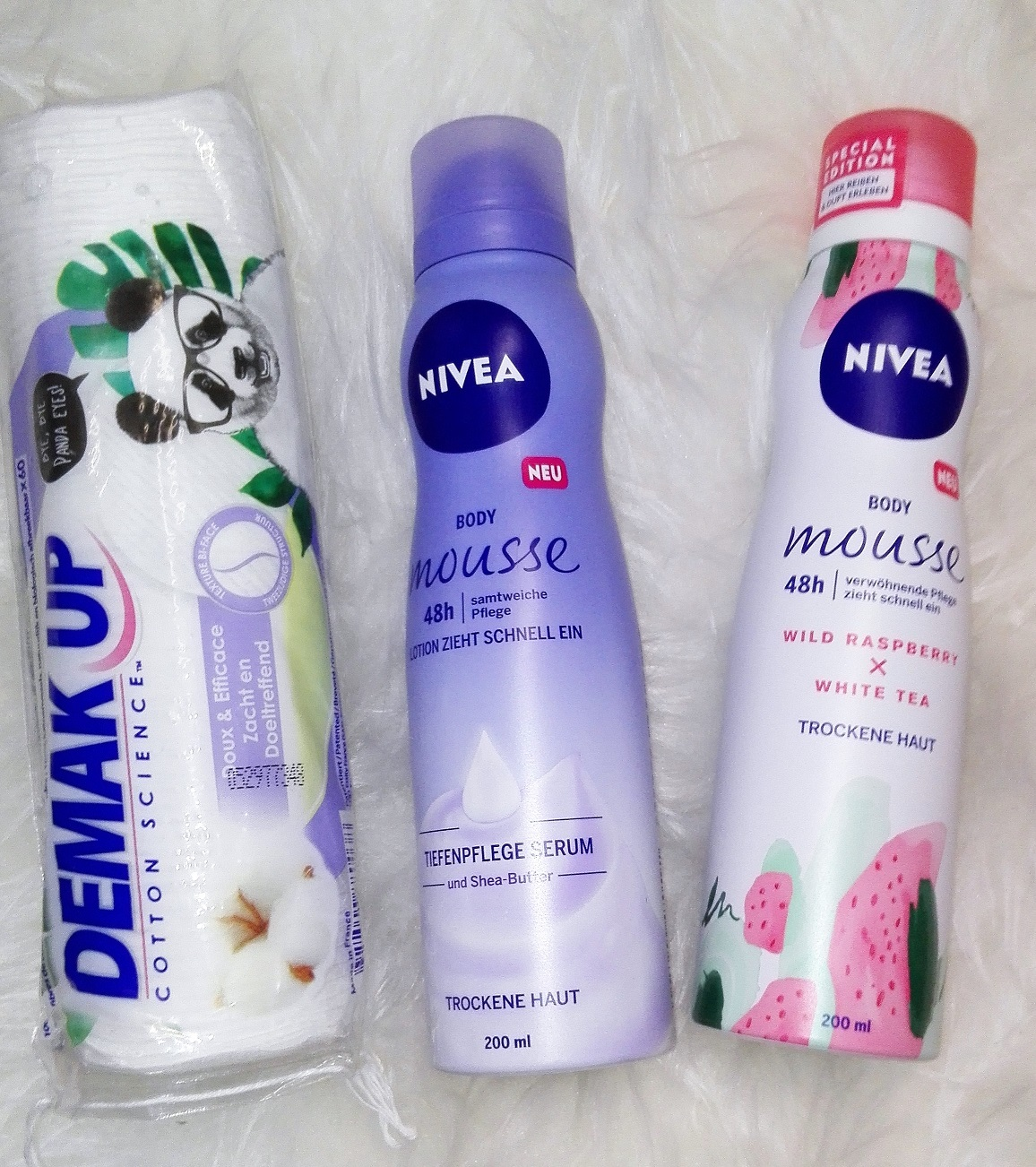 Nivea Body Mousse Produkte im Test