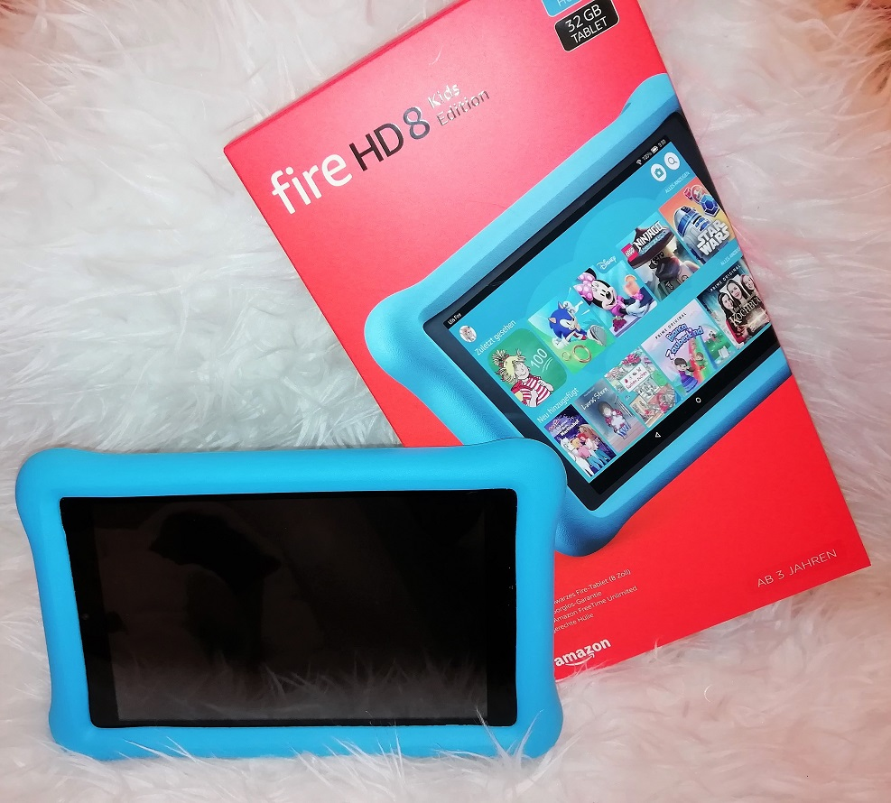 fire hd 8 Kids Test