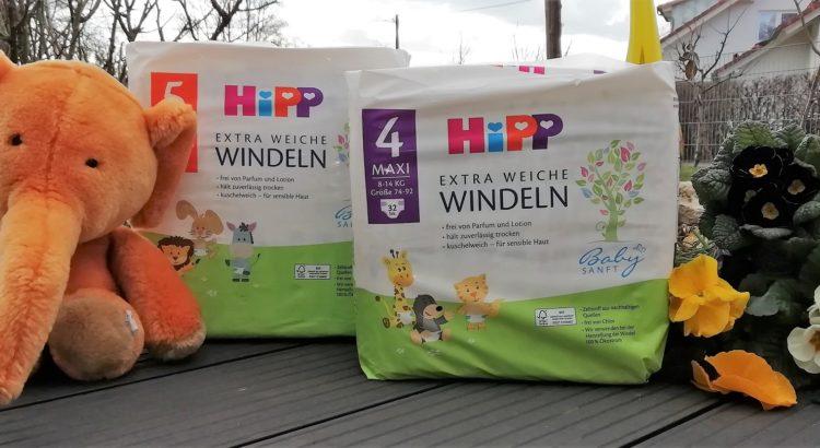 Unsere Erfahrung mir den HiPP Babysanft Windeln