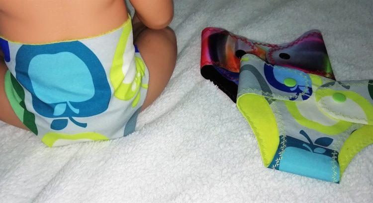 Puppenwindel selber machen ohne nähen schnell einfach