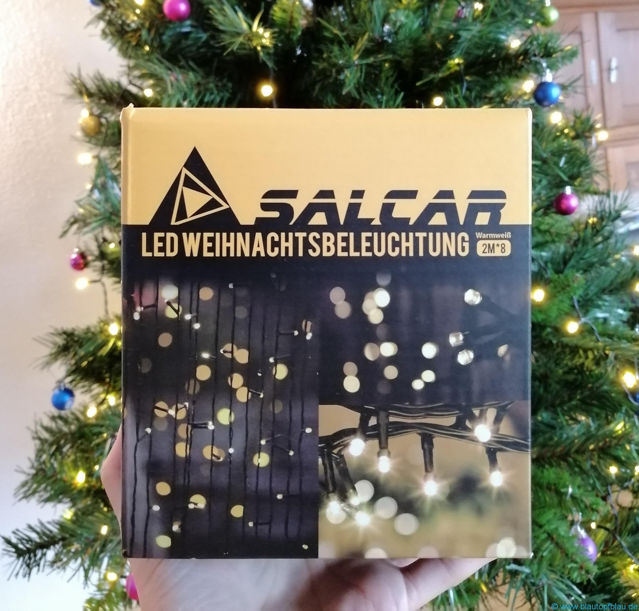 Erfahrung Salcar Lichterkette Weihnachtsbaum