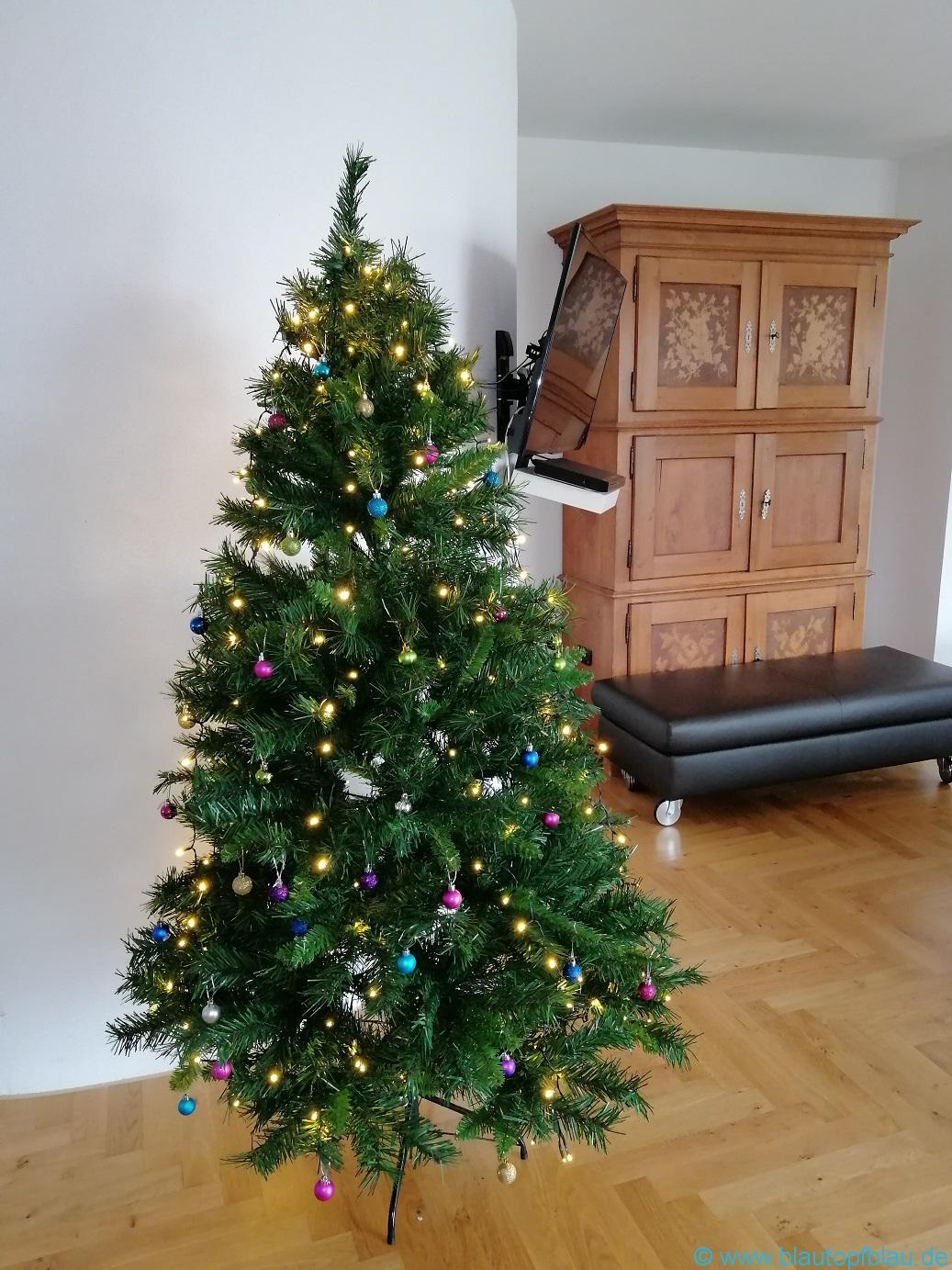 Erfahrung Salcar künstlicher Weihnachtsbaum