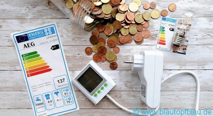 Strom sparen Tipps Tricks