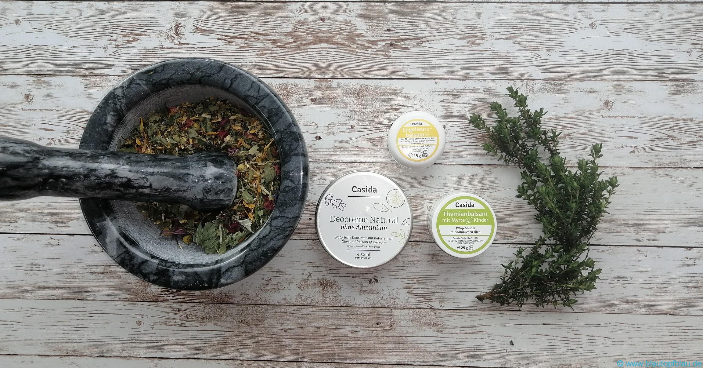 Erfahrung mit Casida Naturprodukten