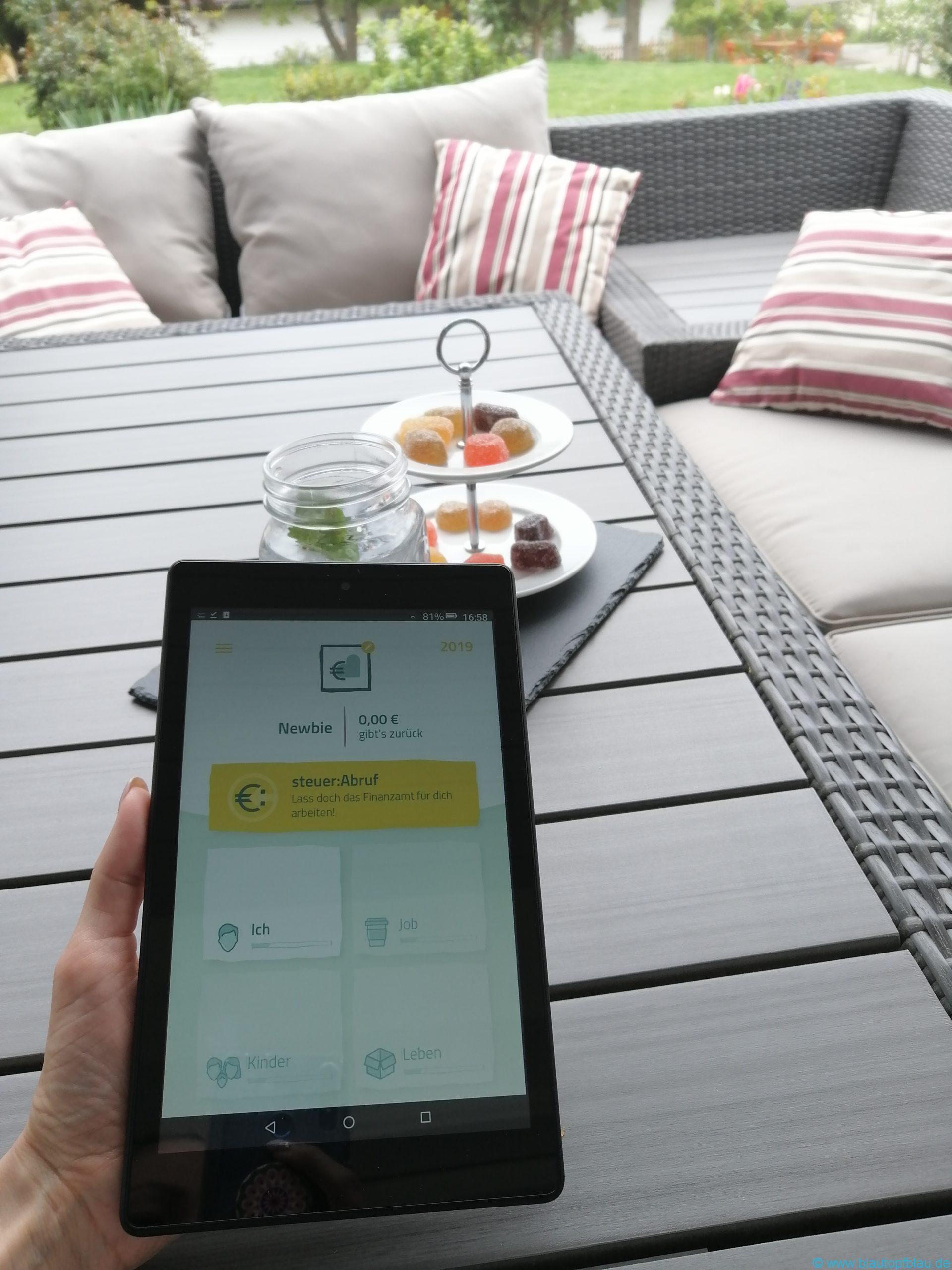Steuer-App ilovetax Erfahrung