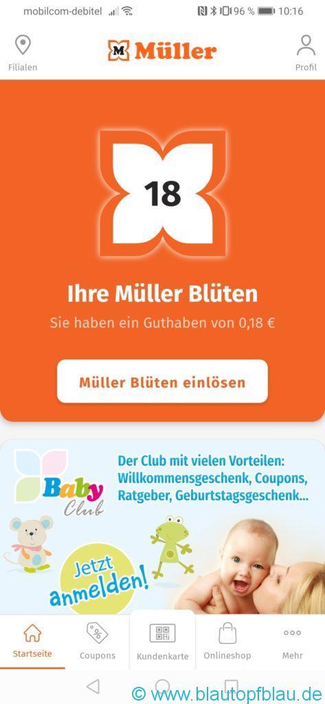 Erfahrung Müller App Coupon Toniefigur