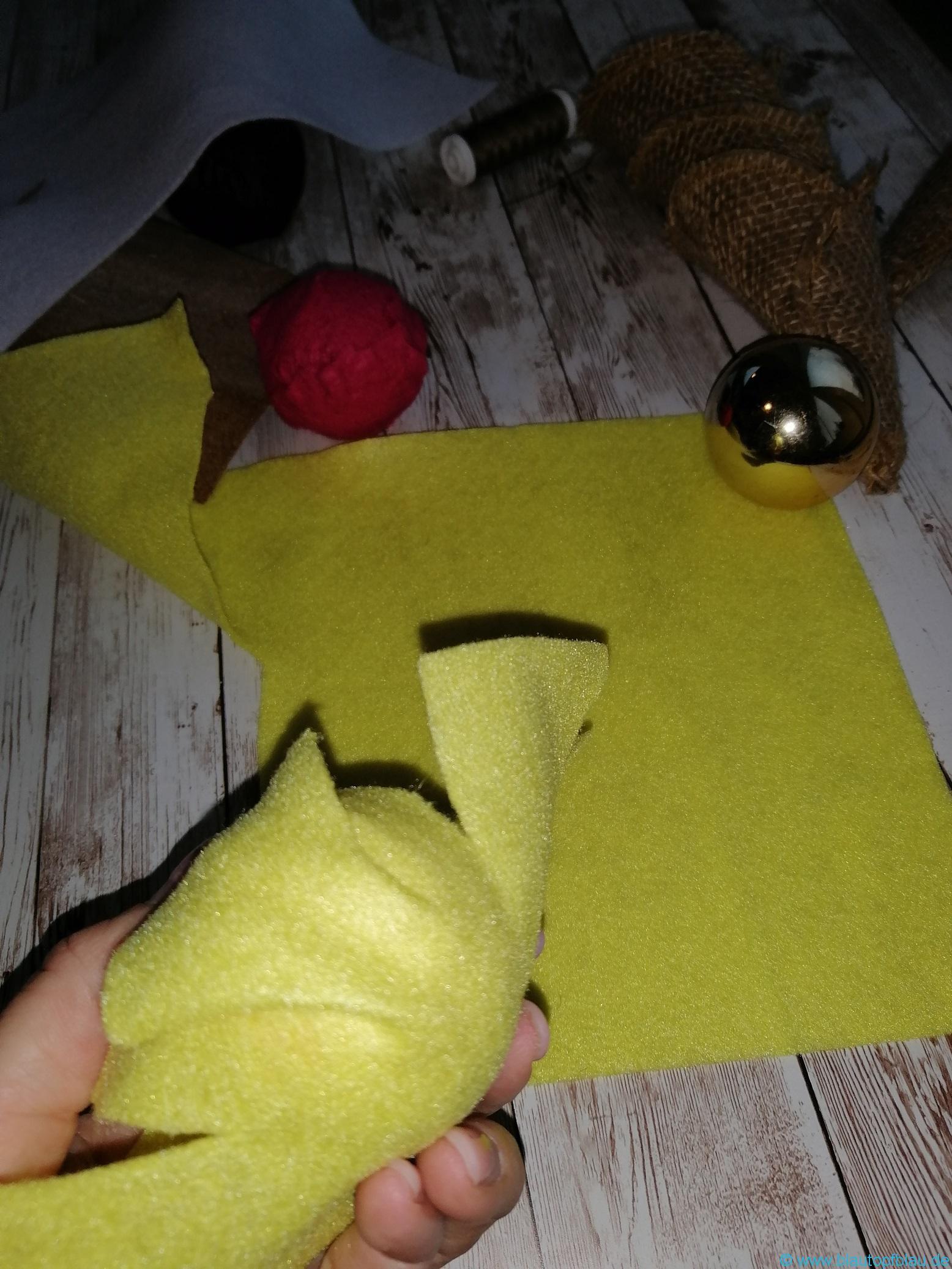 Anleitung DIY Eiskugeln Eiswaffeln Kaufladen selbermachen