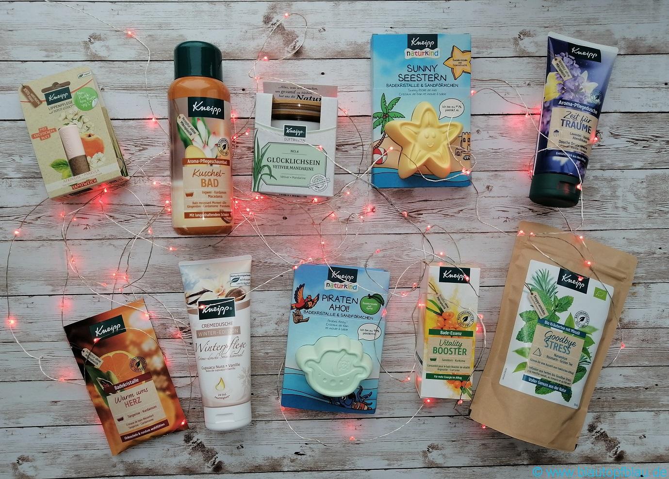 Kneipp Gewinn 10 Produkte