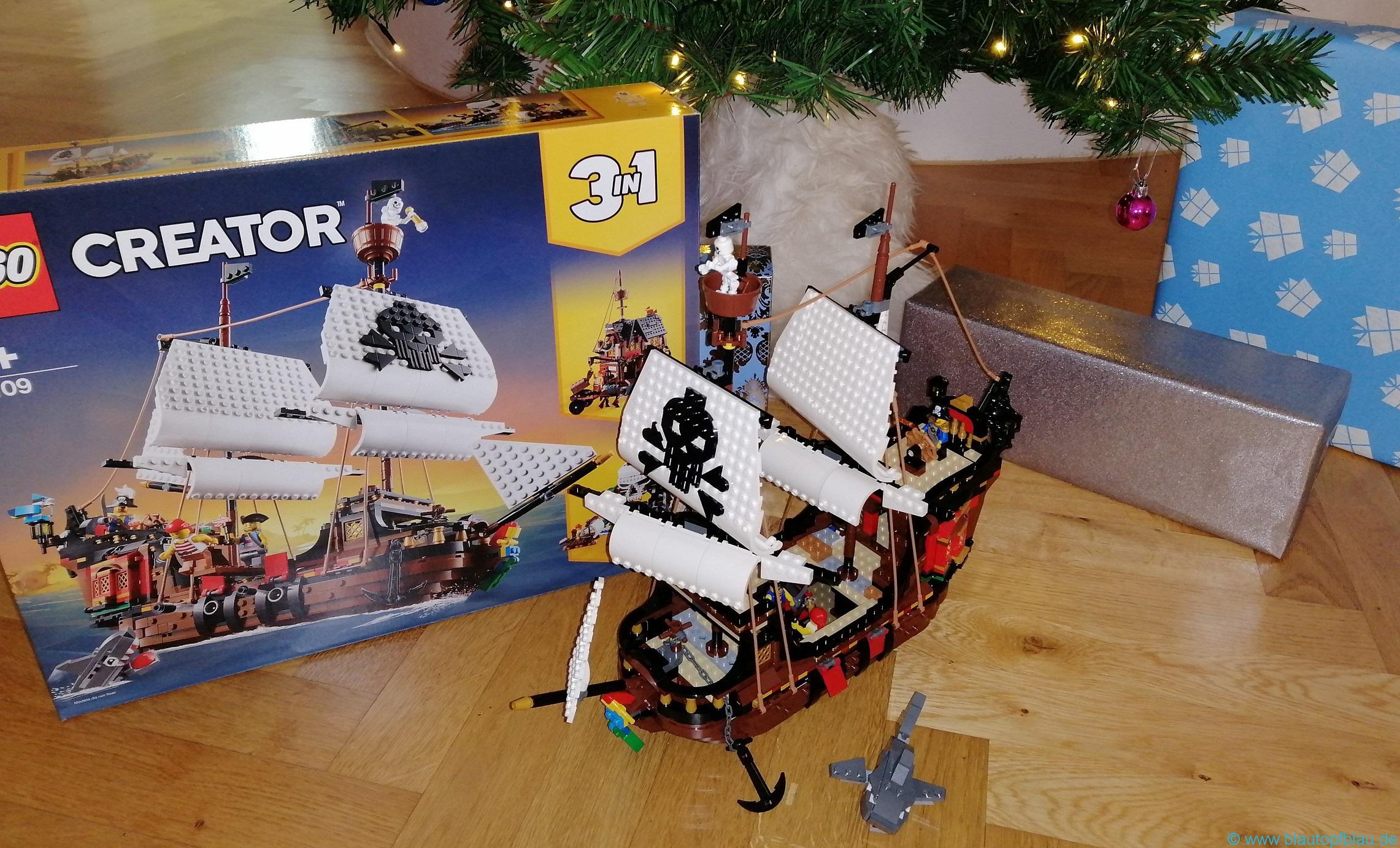 Lego 3 in 1 Piratenschiff Erfahrung
